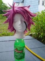 Natsu Wig Comm by 0Charcoal0