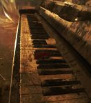 old piano' by inbrainstorm