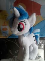 My little Pony - Vinyl Scratch Plush by SakuSay