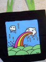 Custom Bag: Rainbow 2 by kustom-kicks
