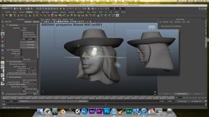 3D DROSS FACE - SKIN 3D VIDEOGAME (WORKINPROGRESS) by MickyFirebird