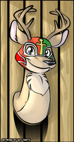 Giant Bomb's Luchadeer by Miss-Interocitor