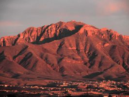 Mt Franklin and El Paso, Texas by SharPhotography
