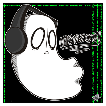 Napstablook! by SirScribble1