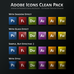 Adobe Icons Clean Pack by eds-danny