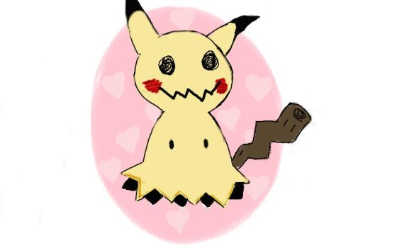 Mimikyu by Sugarpinklickalips