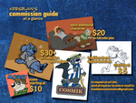 Commission Guide at a Glance by Kresblain