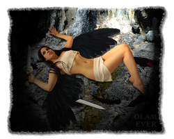 Fallen Angel by olamever