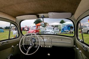 VW Beetle interior at Budel by mcdronkz