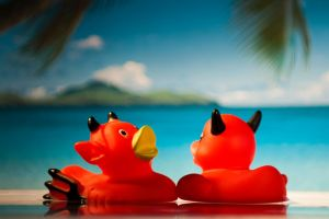 Rubber duck honeymoon by Minaya86