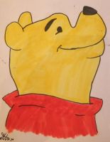 Winnie the Pooh Drawing by chloesmith8