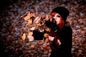 autumn sun by Drastique-Plastique