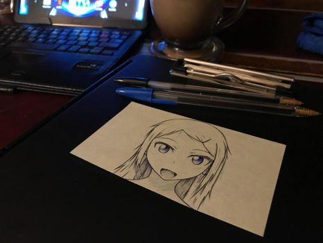 Coffee and Doodles by DrakenAnime