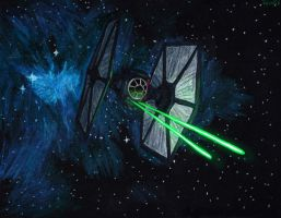 First Order Spec Forces Tie Fighter by Taipu556