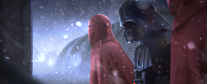 Vader mourning by Orbi51
