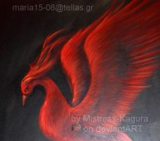 The vermilion phoenix-detail by Mistress-Kagura