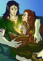Commissione Speciale6 - Muireen and Rynden by LadyDeddelit