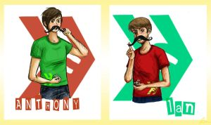 Smosh Bros. by GothicShoujo