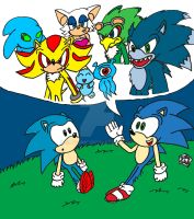 Tales of Sonic Past by SlySonic