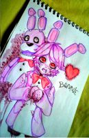 Bonnie the Bunny by Mirokii-DH