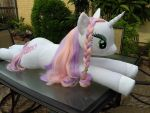 Sweetie Belle MLP Lifesize Plush 01 by JaiYiKendra