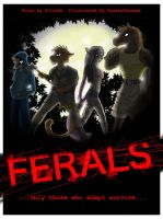 Ferals Front Cover by SquareSausage