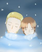 APH- Snow Day (GerIta)~ by magickitt