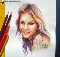 Portrait of Maria Menounos by lazy-brush