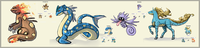 Pokemon fusion by moni158