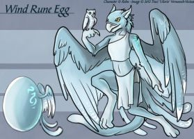 Wind Rune Egg - Adoptable by Ulario