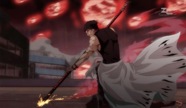 Bringing down the enemy at any cost. . . by Zanpakuto-Leader