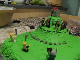 Norman Conquest Cake by coginamachine