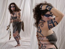 Woad Warrior  12 by lindowyn-stock