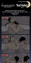 KimRis - Bed Habits Meme by Ciorane