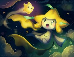 Jirachi and mini Luma!