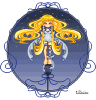 Chii of Chobits by MrsPippinTook