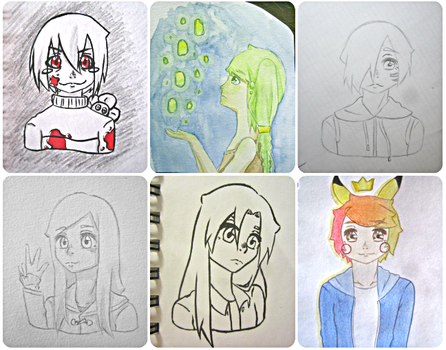 Little drawings ~ by mailinyan