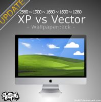 'XP vs Vector' - wallpaperpack by 2tobi7