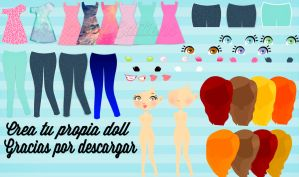 Vectoriza Tus Doll's by NekoEditions