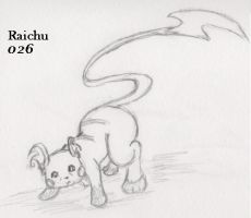 026-Raichu by Giggles-the-Panda