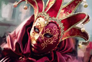 Mask of venice by TheRollingMan