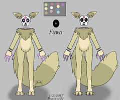 Fawn Ref by Monster51