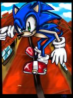 Sonic spagonia by LAZy247