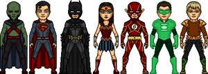 The Justice League Founders by ElephantscagedDC