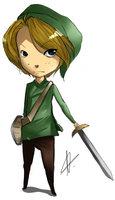 Link - Legend Of Zelda by PeteyXkid