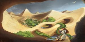 Pyramid Speedpaint by EmilisB