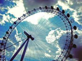 London Eye by BlackJojoCat