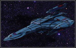 Spectre class battle ctuiser by Andared