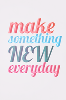 Make something new everyday by yugivn