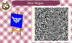 Vyse's Flag QR Code for Animal Crossing New Leaf by Stevolteon
